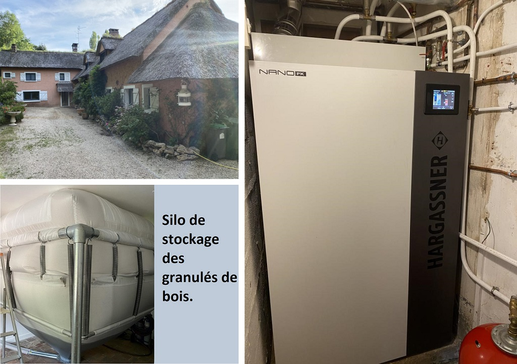 Entreprise Qualibois RGE installation chaudière Granulés Haragassner