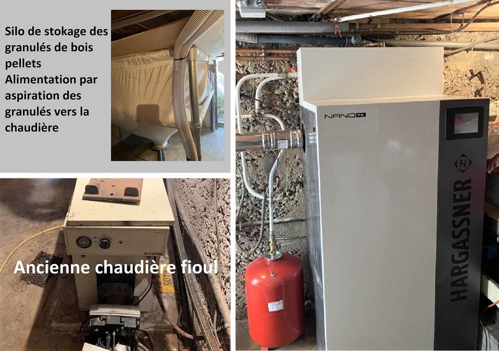 Entreprise Qualibois RGE installation chaudière Granulés Hargassner Nano PK