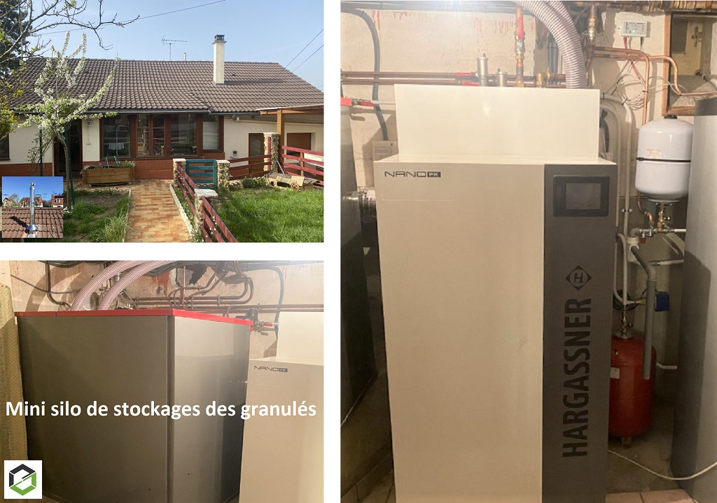 Rge Qualibois en Essonne 91 - Installation chaudière Granulés de bois Hargassner