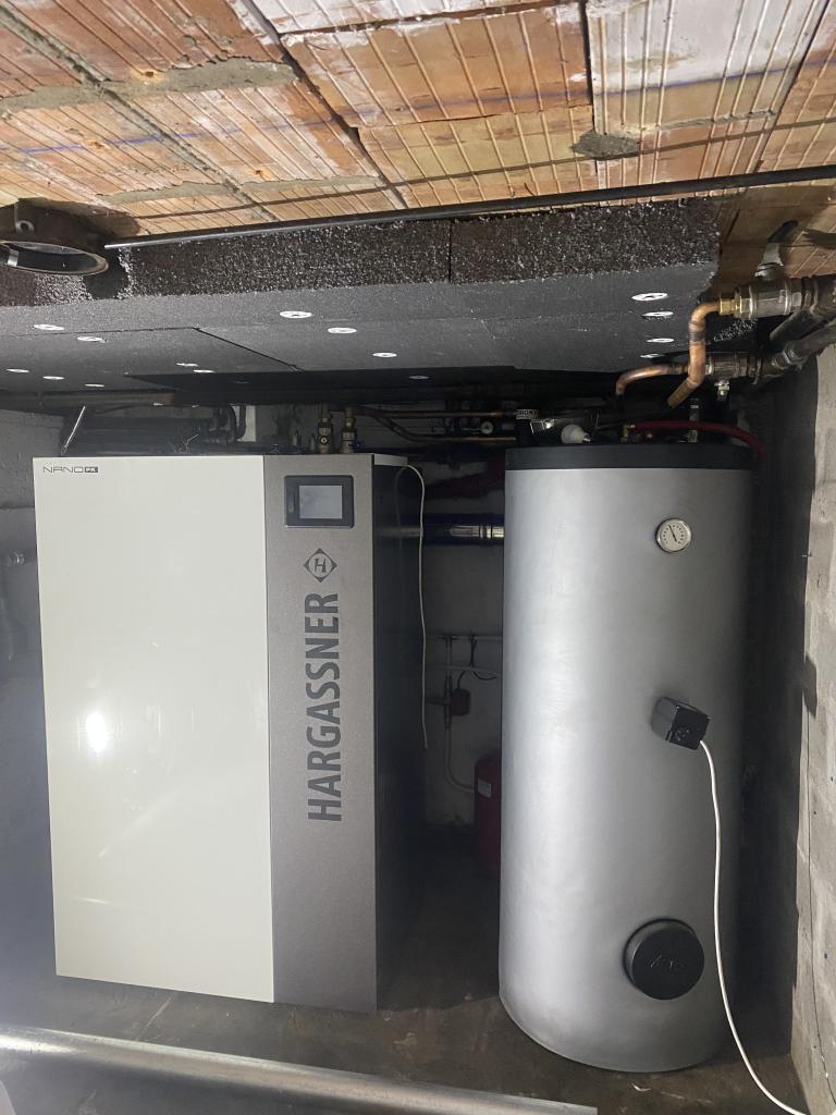 Entreprise Qualibois RGE - installation chaudière Granulés Haragassner-Essonne (91)