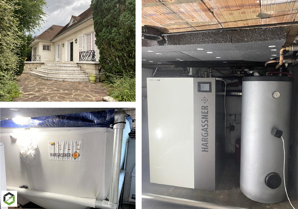 Entreprise Qualibois RGE - installation chaudière Granulés Haragassner
