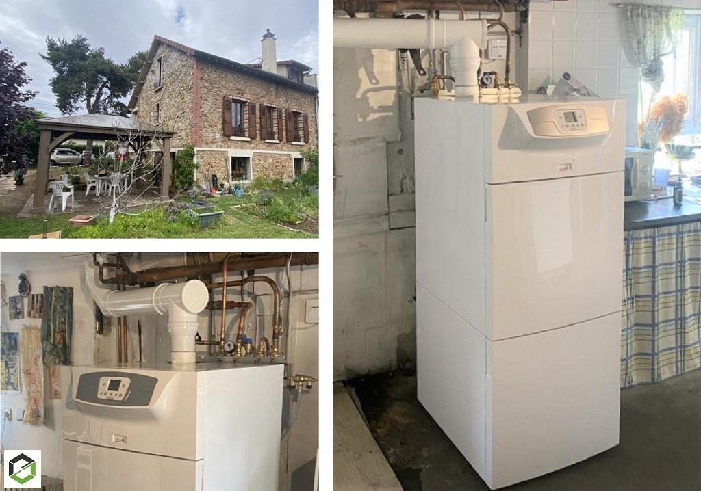 Installateur RGE Eco Artisan - Installation chaudière gaz Chappée  Klista + 24 kW  HTE