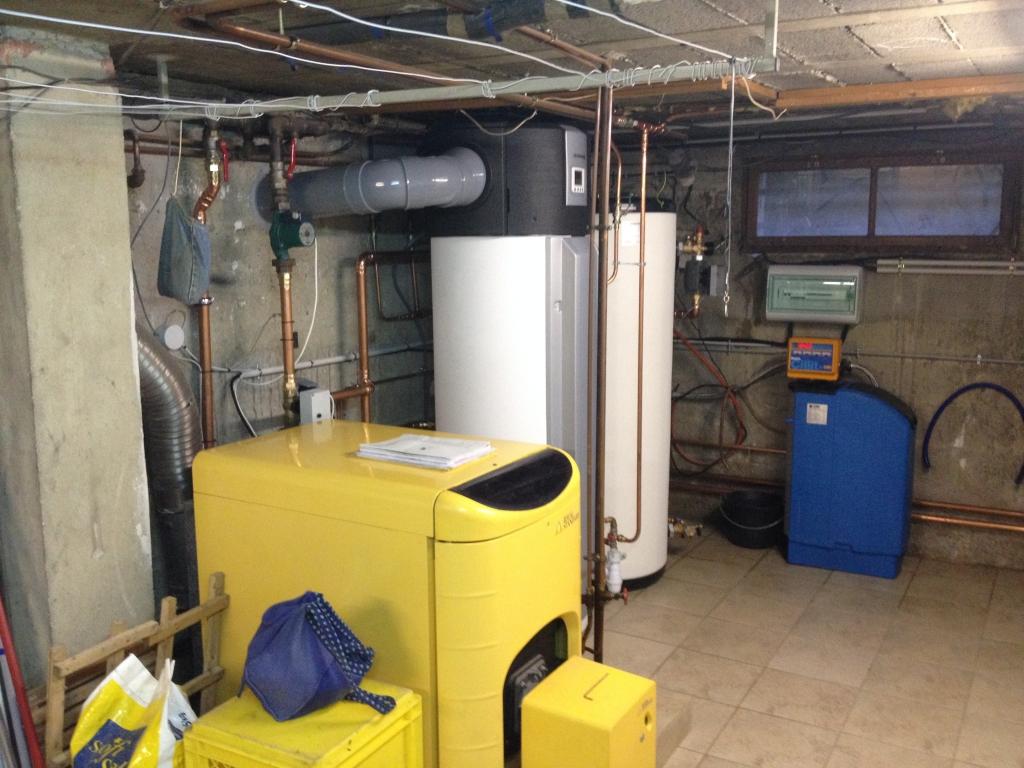 Installation d'une Pompe à chaleur Stiebel Eltron WPL 33