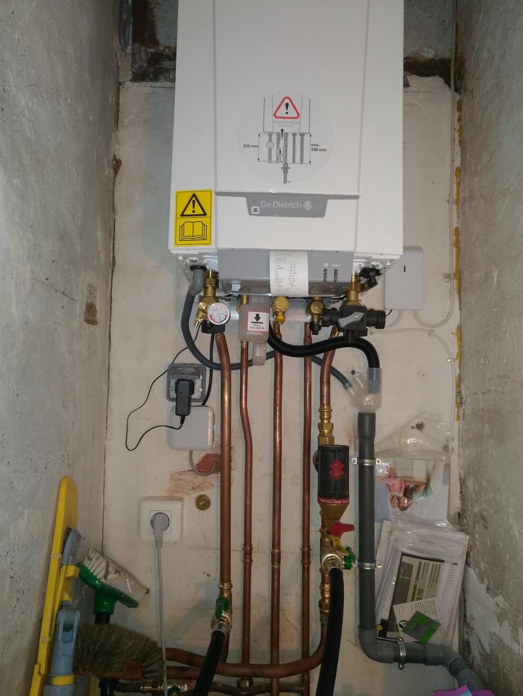 Désembouage circuit radiateurs