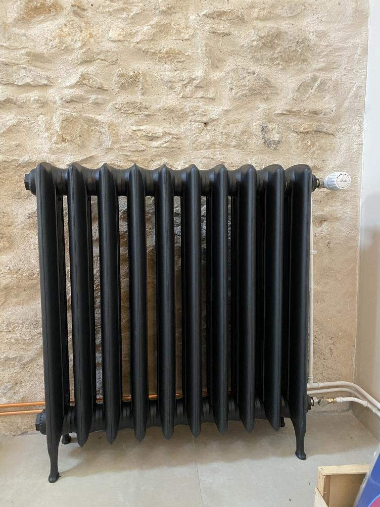 Installation de radiateurs fonte basse température-Oise (60)
