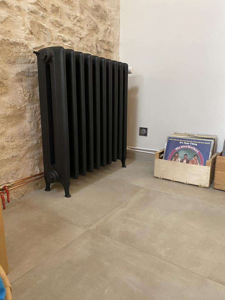 Installation de radiateurs fonte basse température près de Chalon-sur-Saône