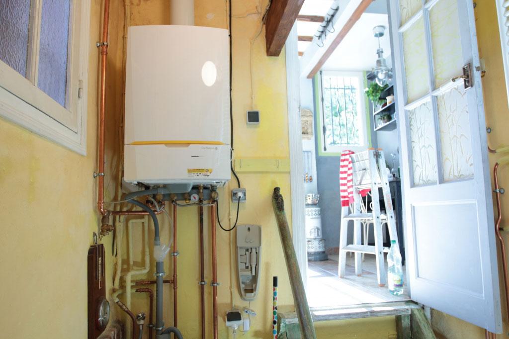 Chauffagiste RGE - Installation chaudière condensation DeDietrich Innovens MCA à Luzarches 95 Val d'oise-Val d'Oise (95)