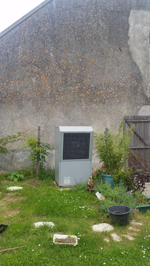 Pompe à chaleur Dimplex Air-Eau et système solaire Viessmann Coudray Le Malesherbois 45 Loiret