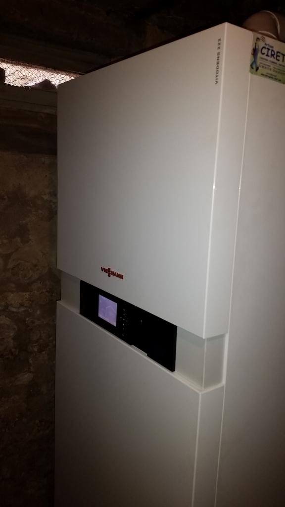 changement de la chaudi re fioul par une chaudi re au gaz. Black Bedroom Furniture Sets. Home Design Ideas