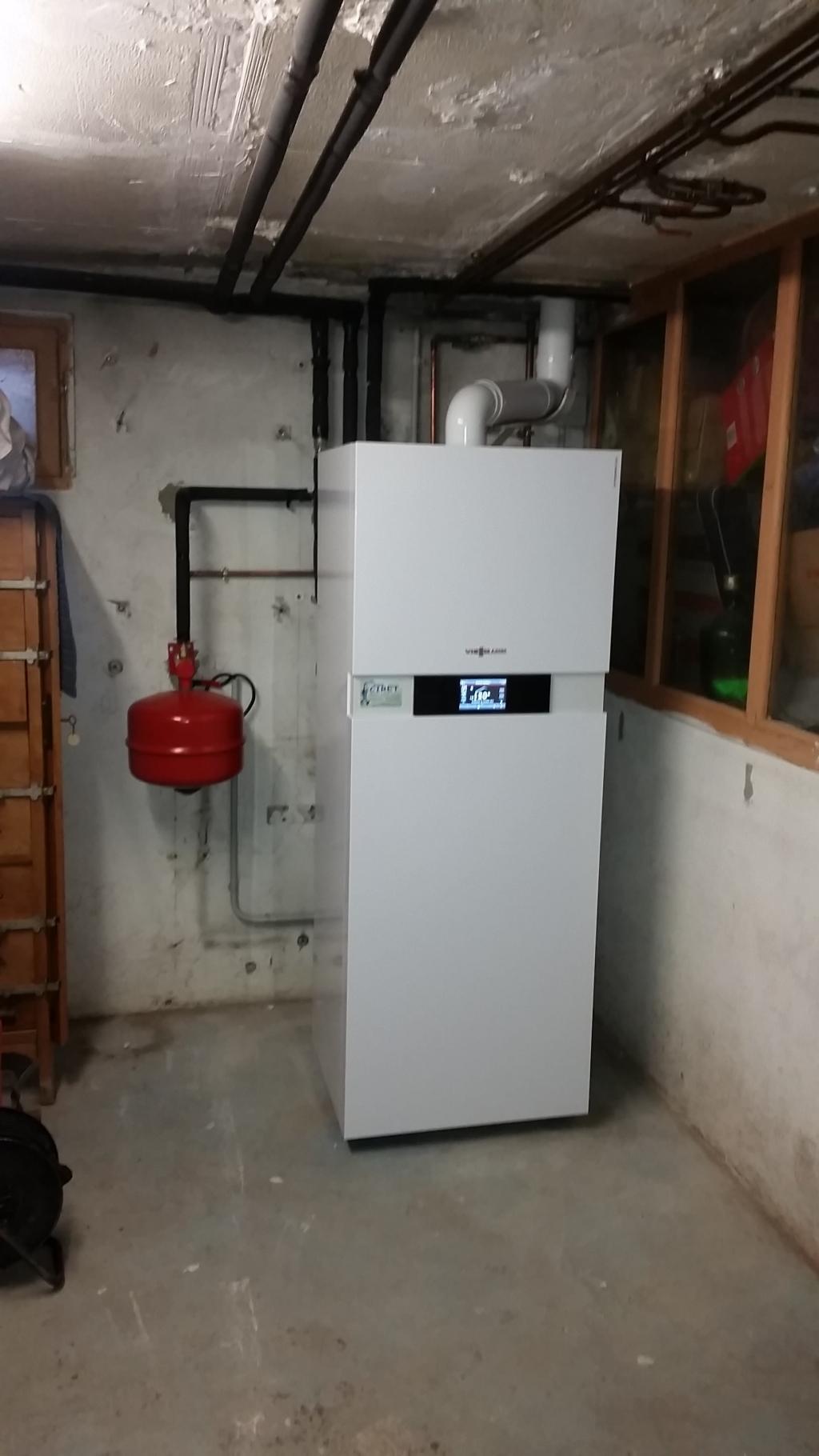 changement de la vieille chaudi232re gaz par une chaudi232re
