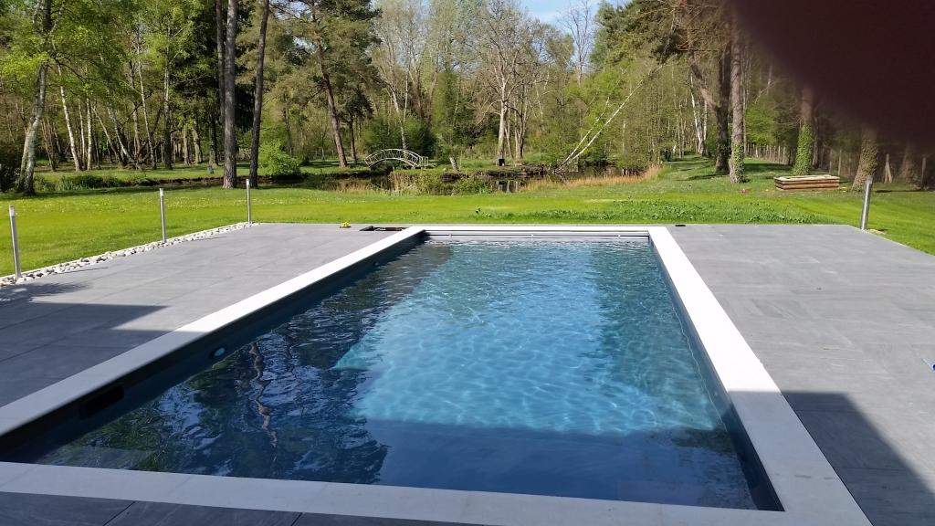Installation D Un Systeme Chauffant Pour Piscine A Fontainebleau