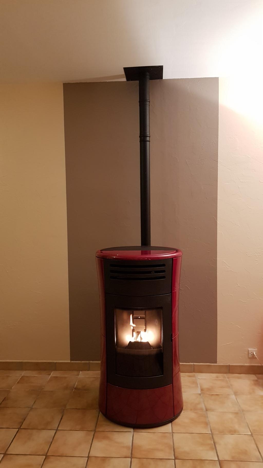 Changer Sa Cheminée Pour Poele Bois changement d'une cheminée bois par un poêle aux granulés de