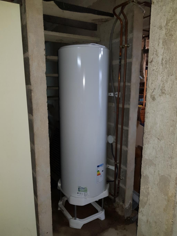 Changement du ballon d'eau chaude sanitaire