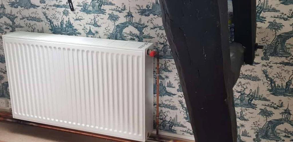 Transformation d'un chauffage à la vapeur par un chauffage basse température par pompe à chaleur EAU EAU