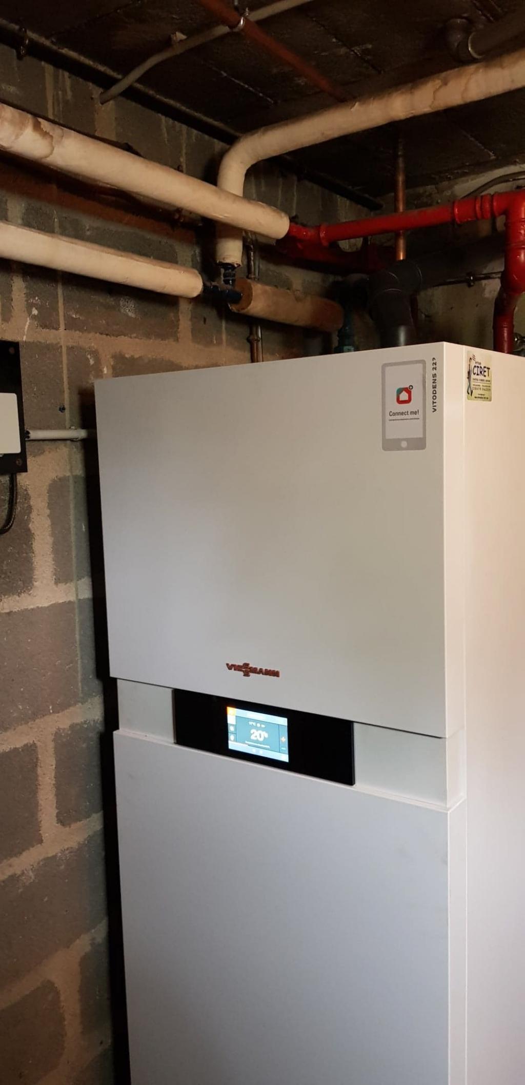 Chauffagiste Pithiviers : Installation d'une chaudière Gaz condensation à la place de la chaudière fioul