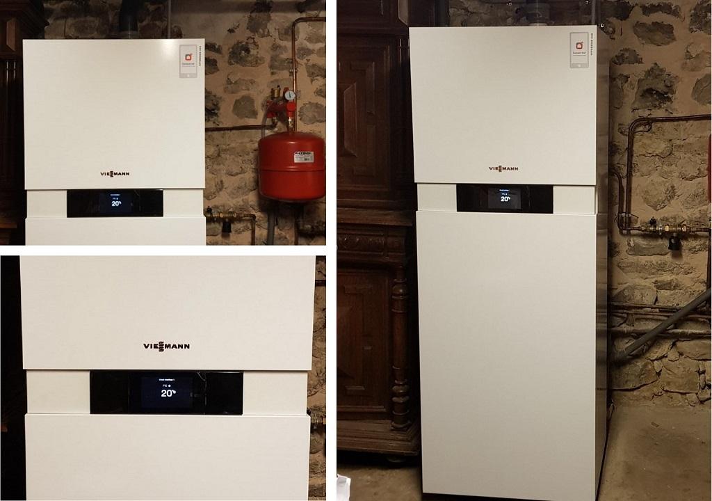 Installateur chaudière Gaz PROCATIF VIESSMANN :  Changement de la vieille chaudière par une chaudière haute performance énergétique à Boigneville 91