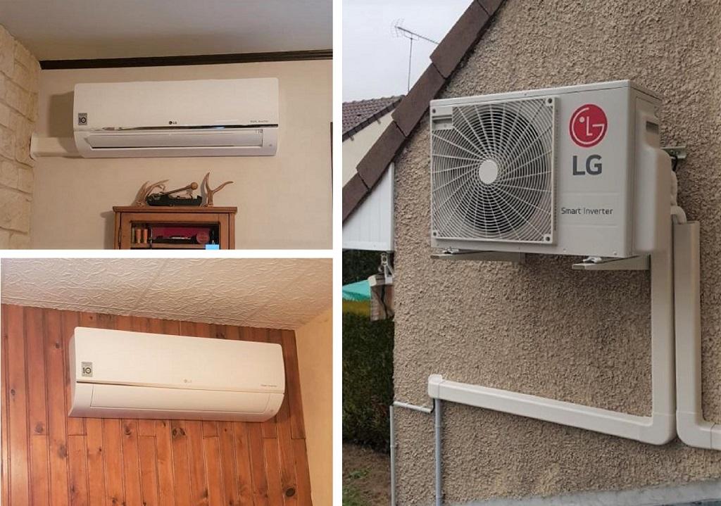 Installateur Climatisation : Installation d'un système de climatisation dans une parie de la maison