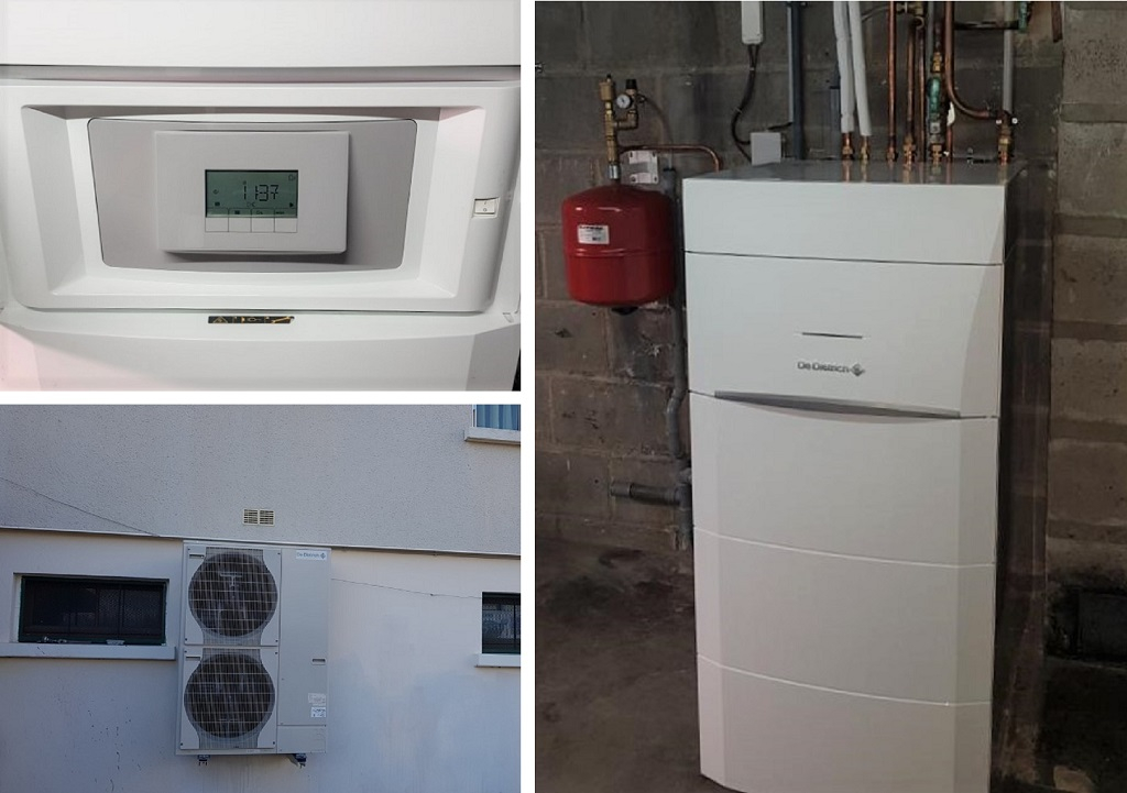 Chauffage pompe à chaleur : Installation d'une PAC air eau à Malesherbes