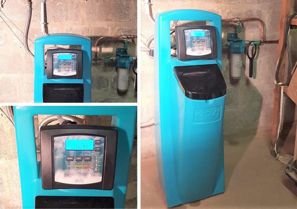 Installateur d'adoucisseur : Installation d'un adoucisseur d'eau CR2J DIAMANT 3 à Courdimanche