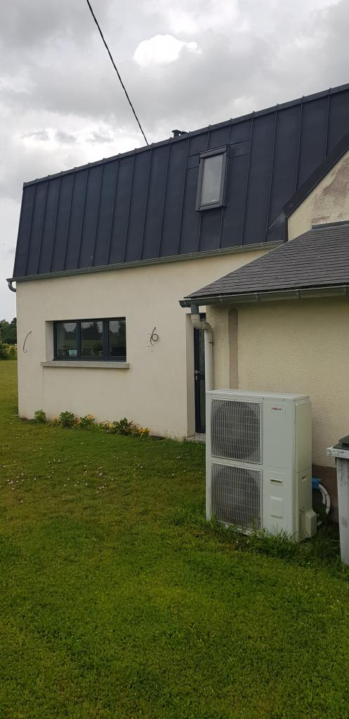 Dépanneur PROACTIF VIESSMANN : Intervention sur la pompe à chaleur VITOCAL 222 S à Santeau 45 avec plancher chauffant rafraîchissant