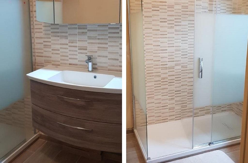 Plombier Installateur : Changement de la vieille salle de bain en salle d'eau à La Chapelle la Reine