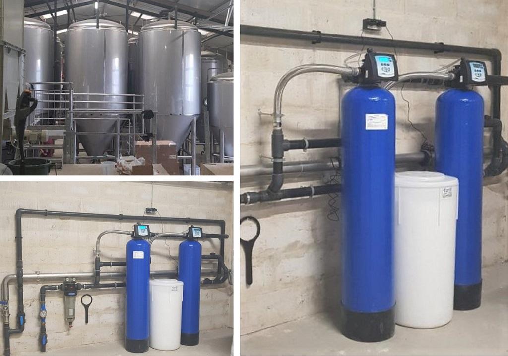 Installateur d'adoucisseur d'eau : Installation d'un adoucisseur d'eau pour le traitement de l'eau à Nangeville dans une belle Brasserie