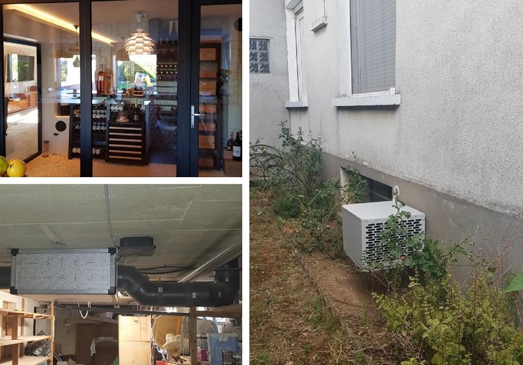 Installateur Climatisation : Installation d'une climatisation spécifique pour une cave à vins