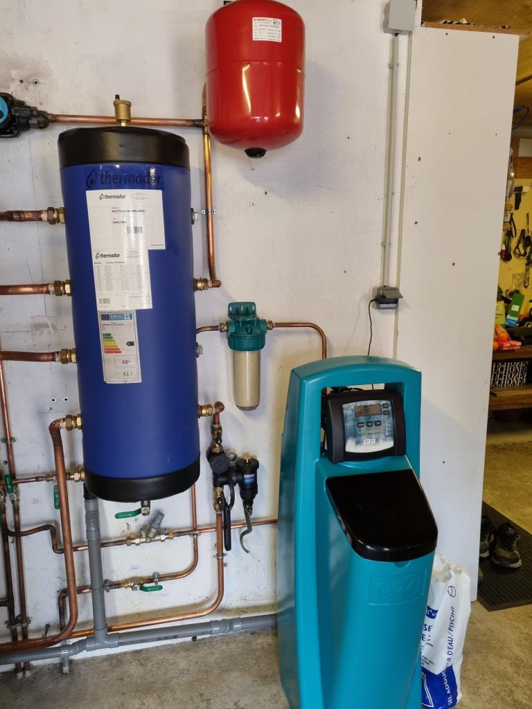 Installateur d'adoucisseur d'eau : Mise en place d'un adoucisseur d'eau à Noisy sur Ecole 77123 proche de Milly la Forêt