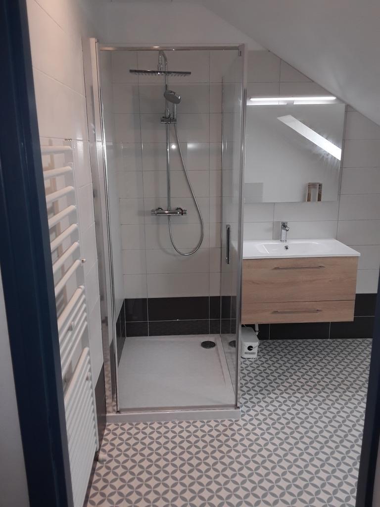 Plomberie Sanitaire : Création de salle d'eau à Fontainebleau 77