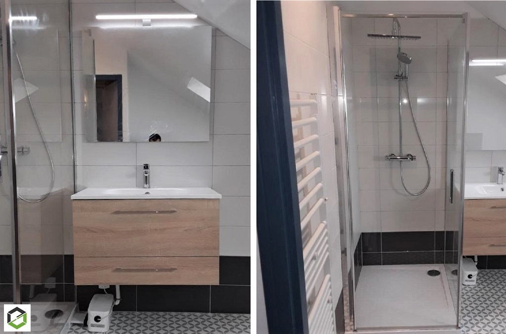 Plomberie Sanitaire : Création de salle d'eau