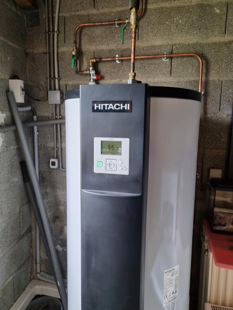 Installateur Ballon thermodynamique RGE :  Changement du ballon de chaudière par un chauffe eau thermodynamique à Augerville la rivière 45330