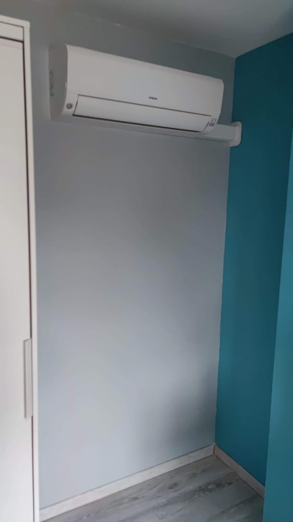 Installateur HITACHI : Installation d'une climatisation de marque HITACHI type MOKAI à BOUGLIGNY 77