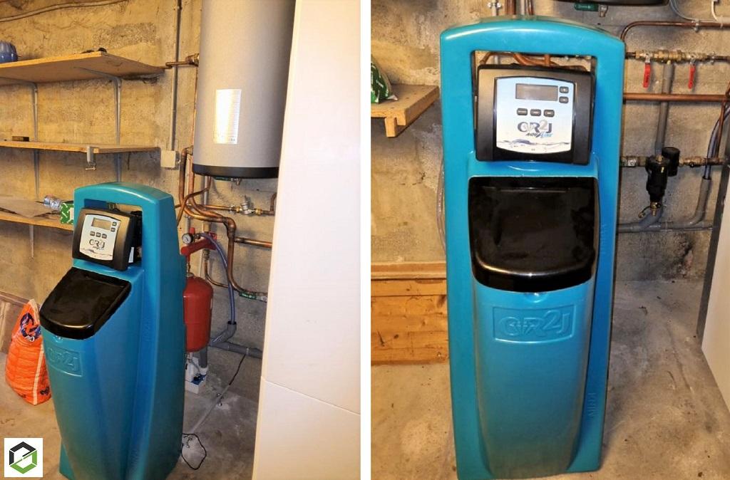 Installateur d'adoucisseur d'eau - Installation d'un adoucisseur d'eau