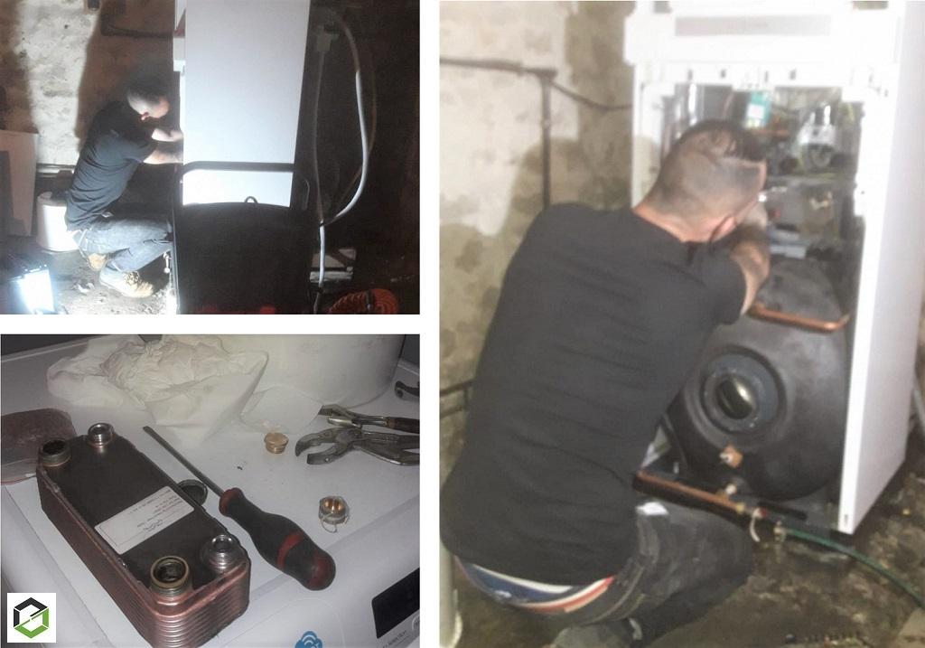 Plombier Chauffagiste : Dépannage sur chaudière gaz VIESSMANN