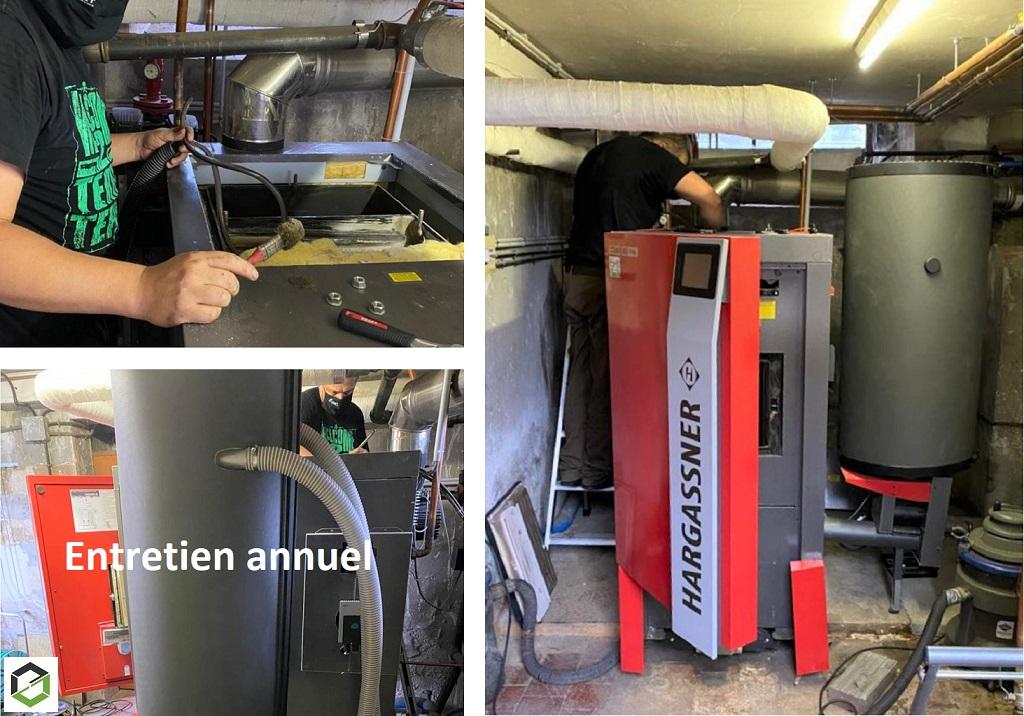 Entretien Ramonage chaudière granulés de bois à Puiseaux-Loiret (45)