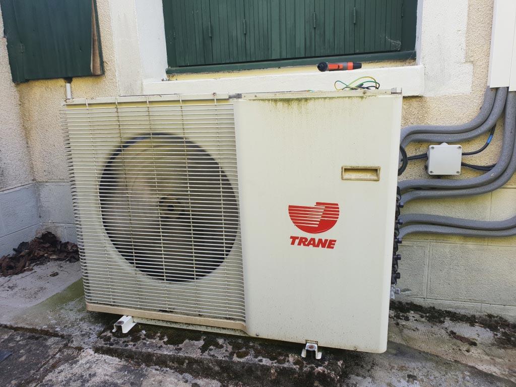 Dépannage climatiseur Trane loiret 45190 Beaugency