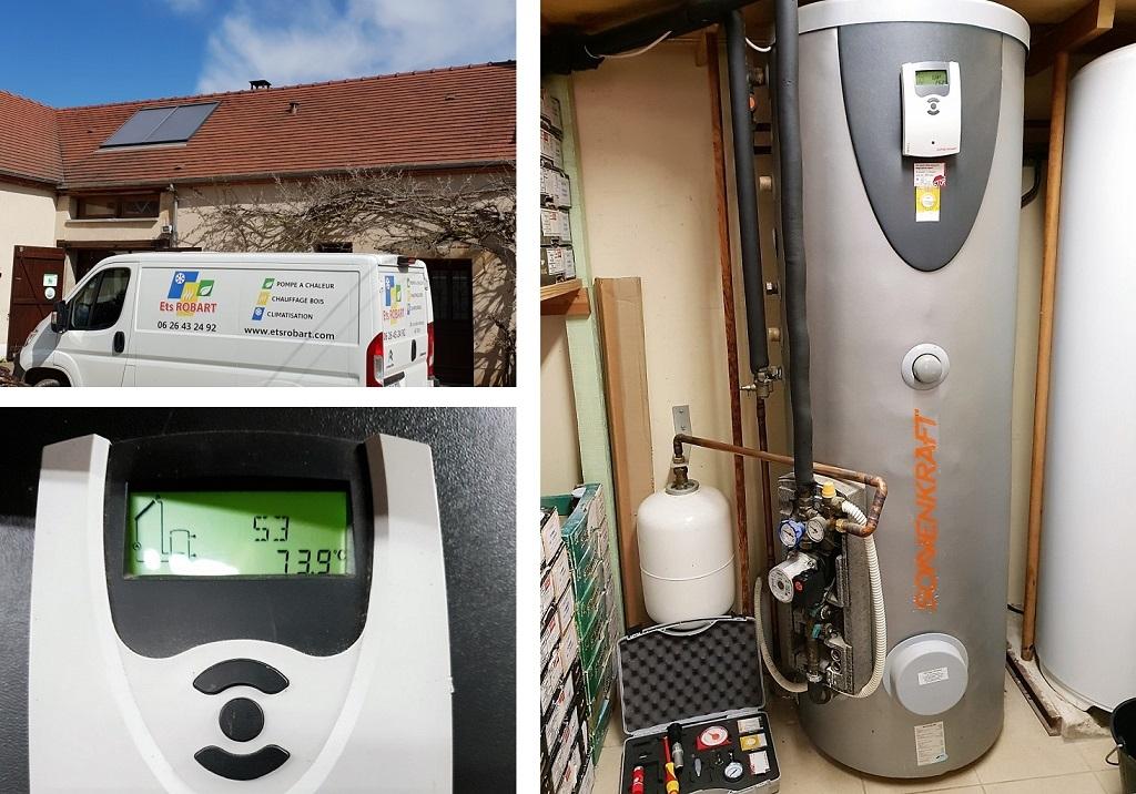 Maintenance chauffe-eau solaire Férolles Loiret