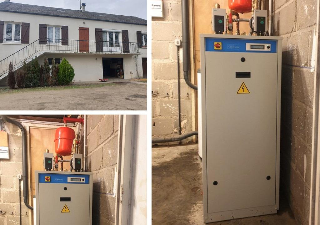 Installation d'une pompe à chaleur géothermie eau-eau haute température