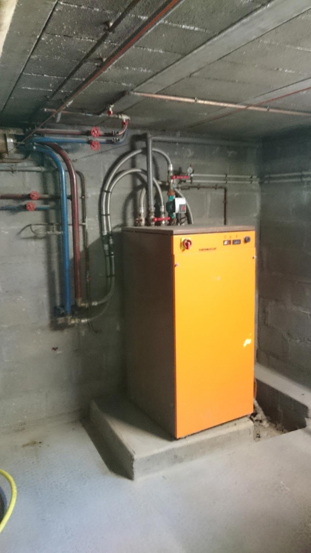 Pompe à chaleur géothermie sur nappe phréatique Etao Enthalpie