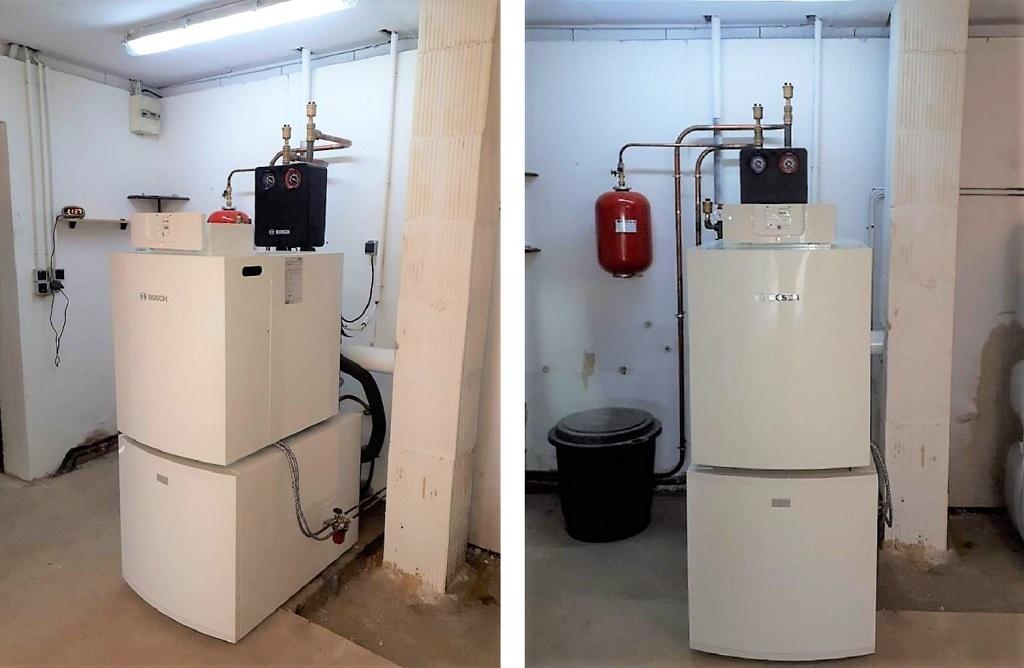 Installation d'une chaudière fioul à condensation BOSCH OLIO CONDENS 7000 F 22, AUNEUIL, 60390, OISE, 60.