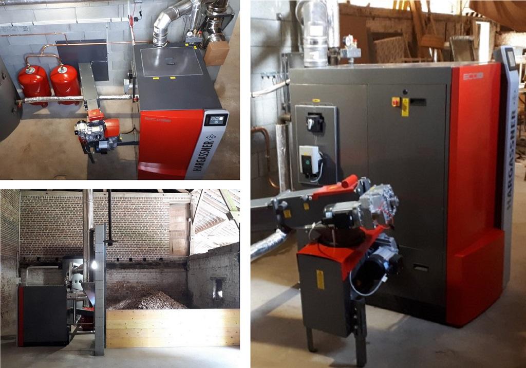 Installation d'une chaudière bois déchiqueté HARGASSNER ECOHK 60KW en remplacement de la chaudière fioul, NOYERS SAINT MARTIN, 60480, Oise.-Oise (60)