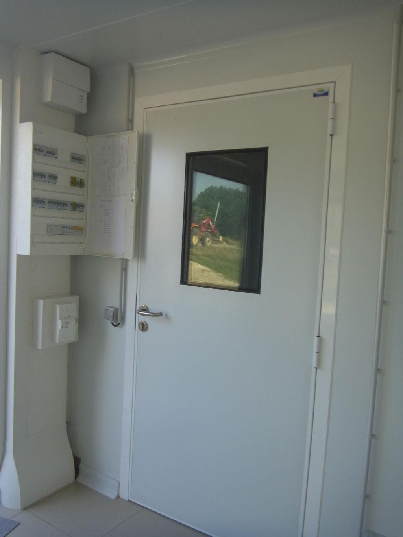 Chaufferie pour fromagerie et appartement  : Chaudière à condensation Okofen