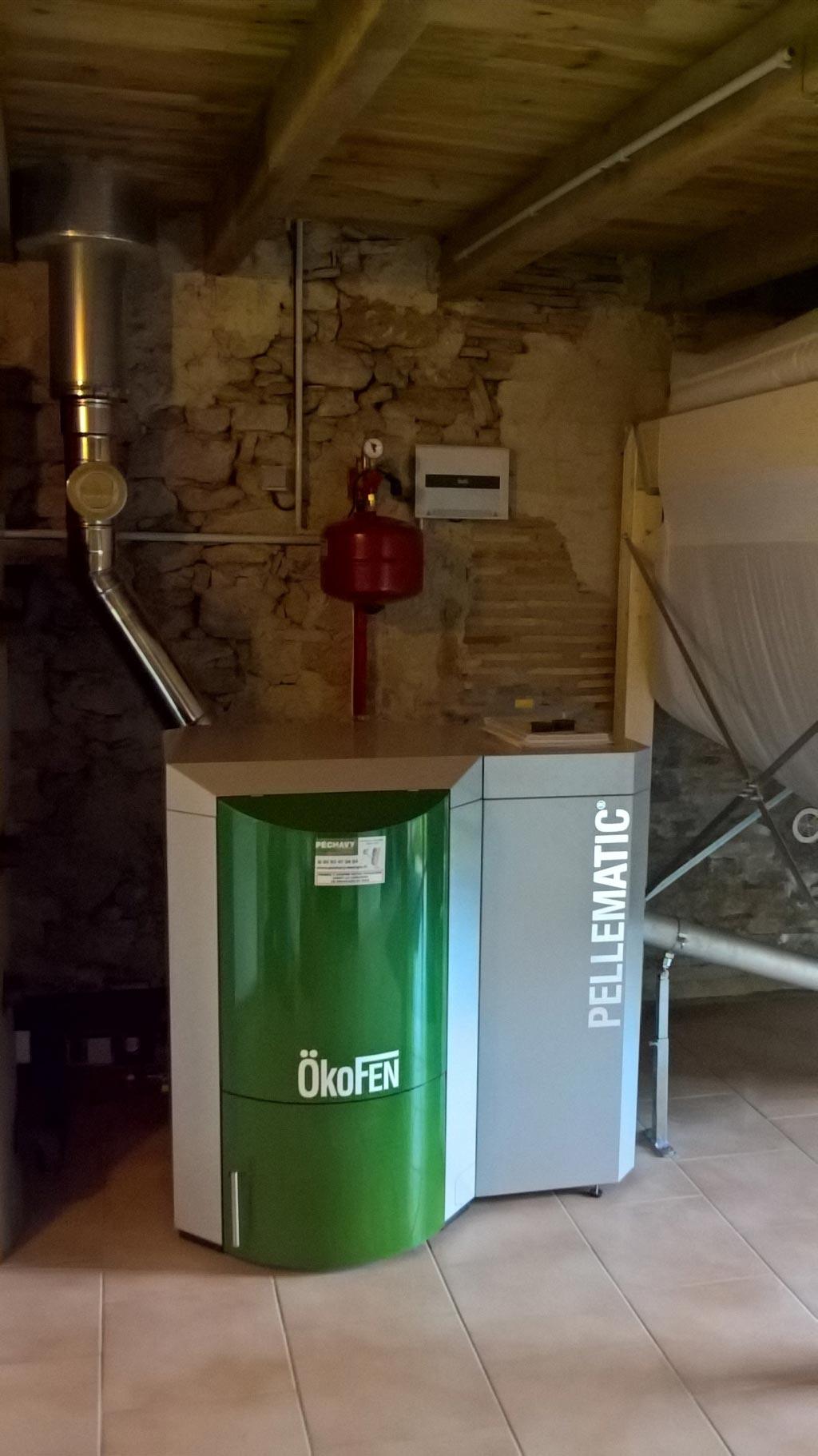 Entretien annuel chaudière Okofen Pellematic 12 kW