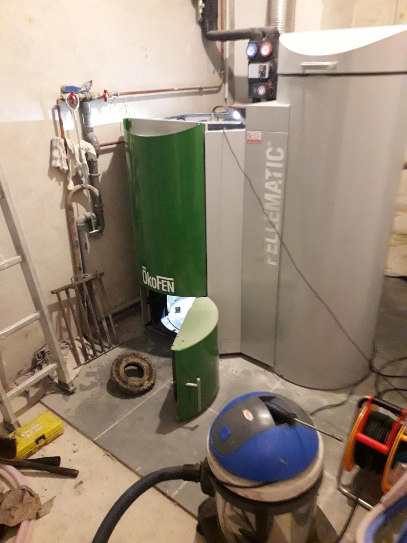 Entretien annuel d'une chaudière Okofen PEB 25 kW