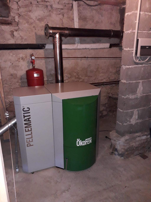 Entretien annuel d'une chaudière Okofen PE 20 kW