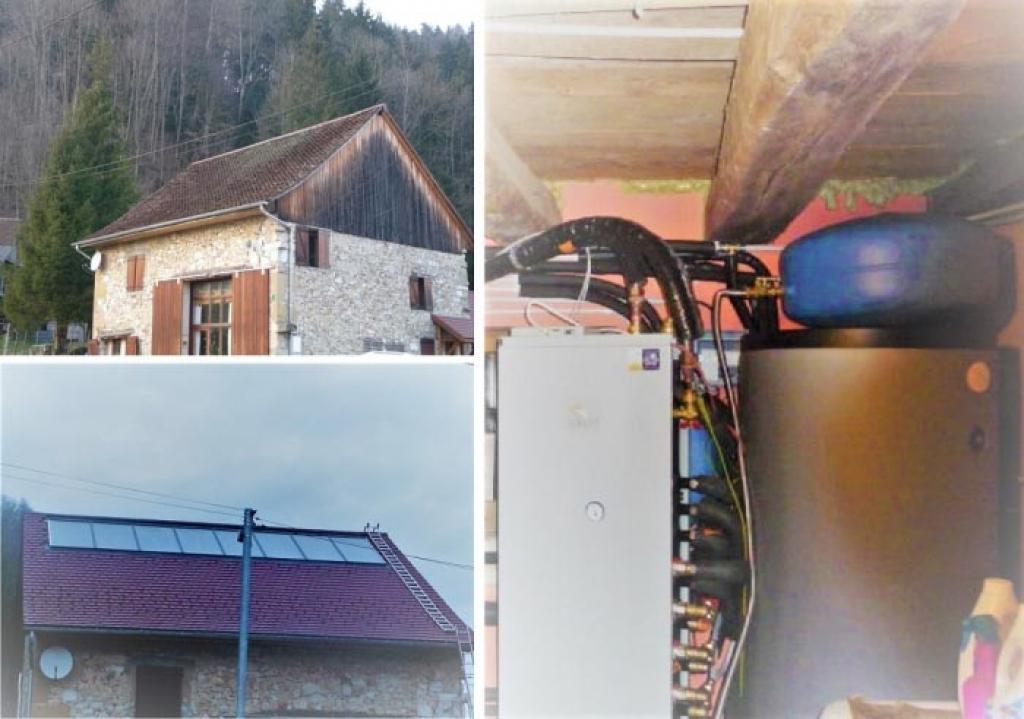 systeme de chauffage solaire solisart 8 capteurs