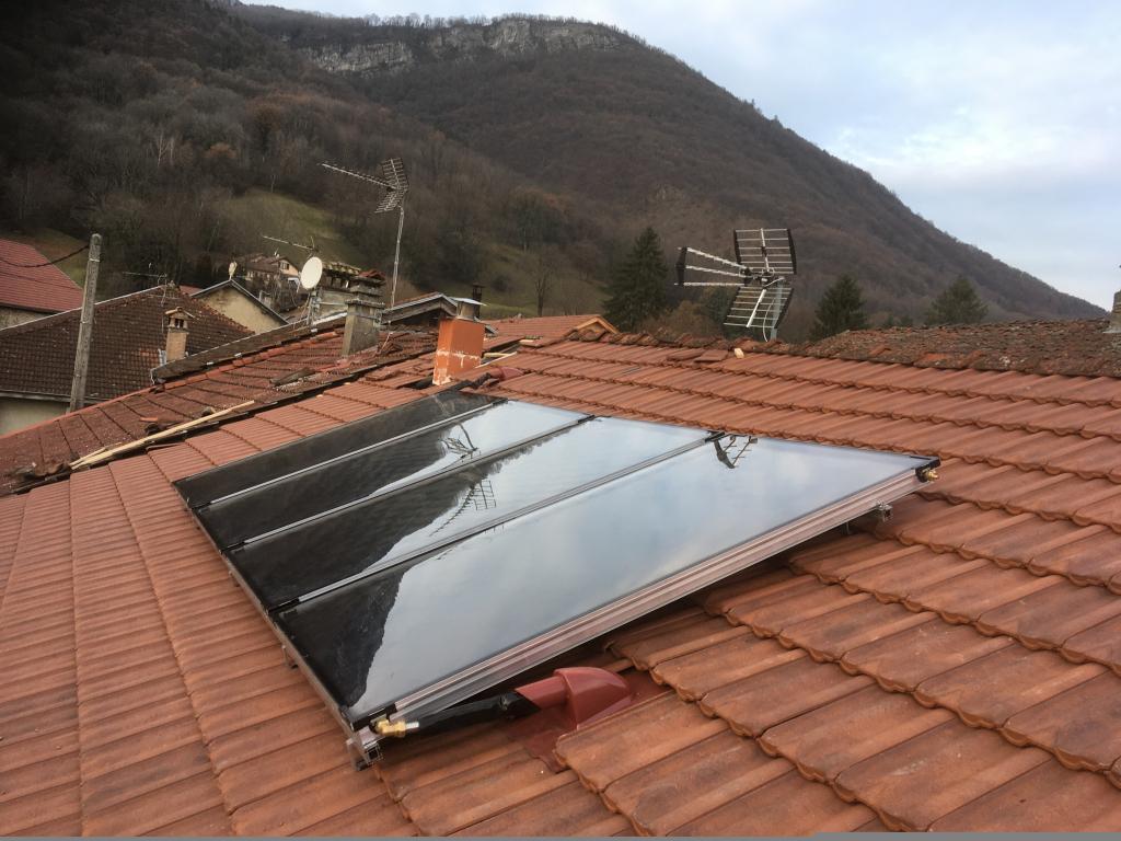 CHAUFFAGE SOLAIRE SOLISART BARRAUX-Isère (38)