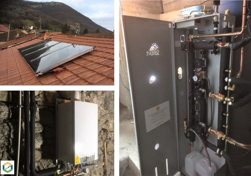 INSTALLATION CHAUFFAGE SOLAIRE SOLISART (SSC)