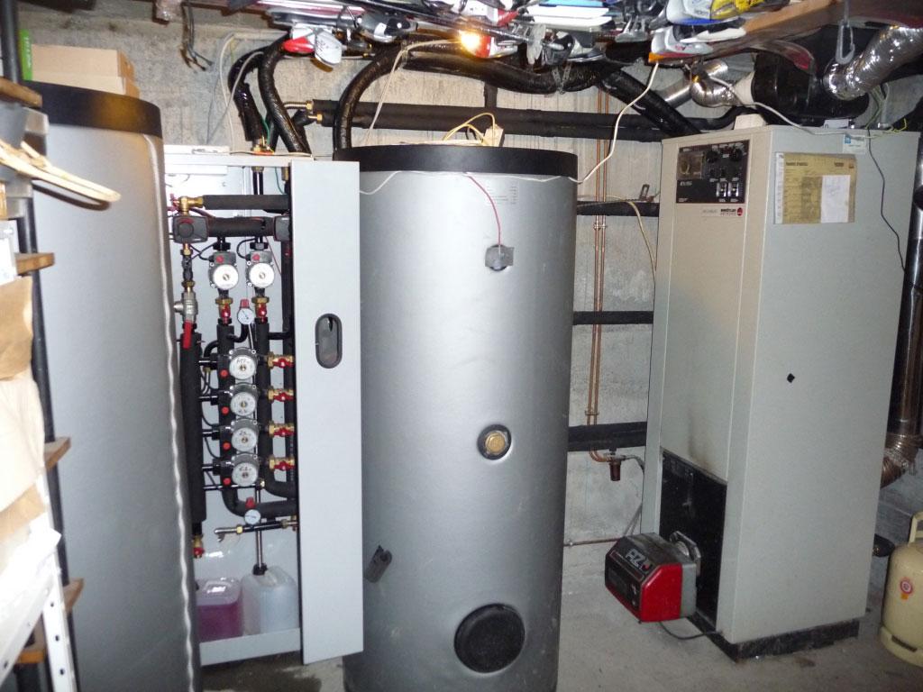 installation d'un chauffage solaire SOLISART SC2 en rénovation