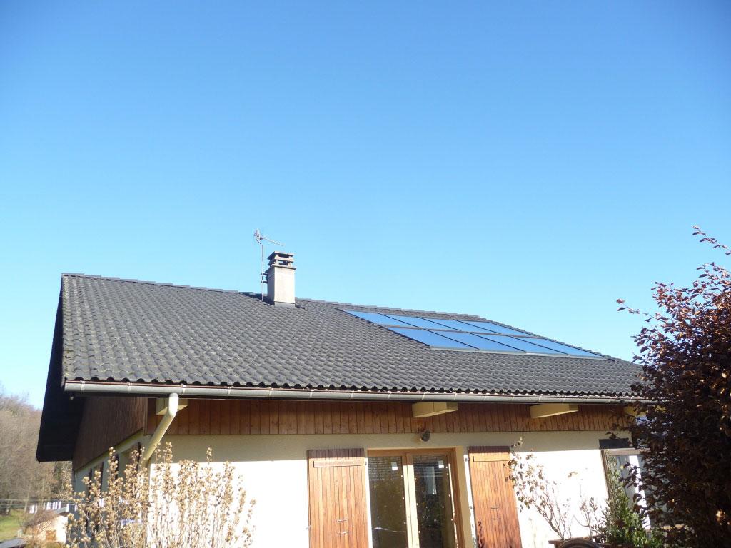 systeme de chauffage solaire solaire direct solisart 8 capteurs
